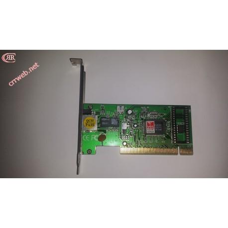 Tarjeta de red RTL 8139C Fast Ethernet usada varios modelos