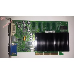 Gráfica GeForce FX5200 AGP 128MB usada