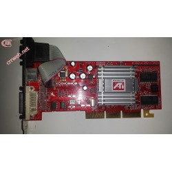 Gráfica ATI 9200SE AGP 128MB usada
