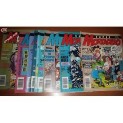 Lote de 105 cómics de Mortadelo de los 80