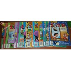 Lote de 94 comics de Zipi y Zape de los 80