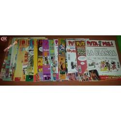 Lote de 79 comics de Puta Mili de finales de los 90