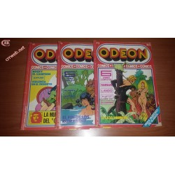Lote 3 cómics Odeon del 77