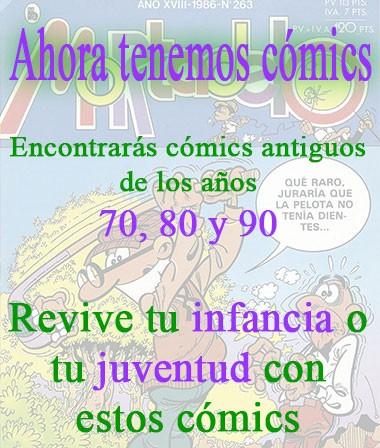 Comics antiguos de los años 70, 80 y 90